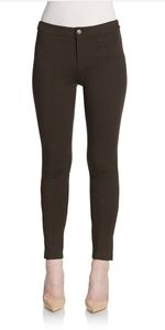 Vince brown ponte riding pants/leggings